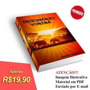 Dicionário Yorùbá - Clique na Imagem e Compre o Seu!